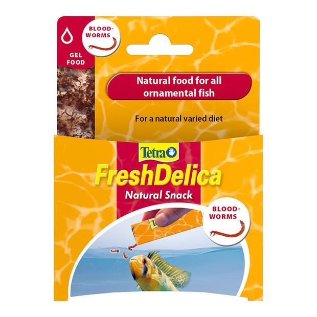 Tetra Fresh Delica Bloodworms 48g Pet: Fish Category: Fish Supplies  Size: 0.1kg  Rich Description:...