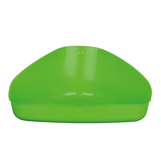 Trixie Corner Toilet Medium Pet: Small Pet Category: Small Animal Supplies  Size: 0.2kg  Rich...