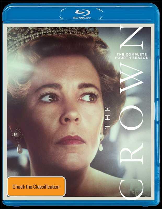 Crown - Season 4 Blu-Ray