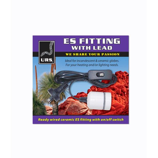 Urs Lead With Es Fitting Each Pet: Reptile Category: Reptile & Amphibian Supplies  Size: 0.3kg  Rich...