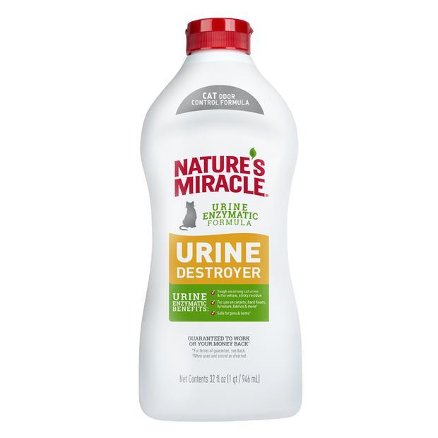 Natures Miracle Cat Urine Destroyer 946ml Pet: Cat Category: Cat Supplies  Size: 1kg  Rich Description:...