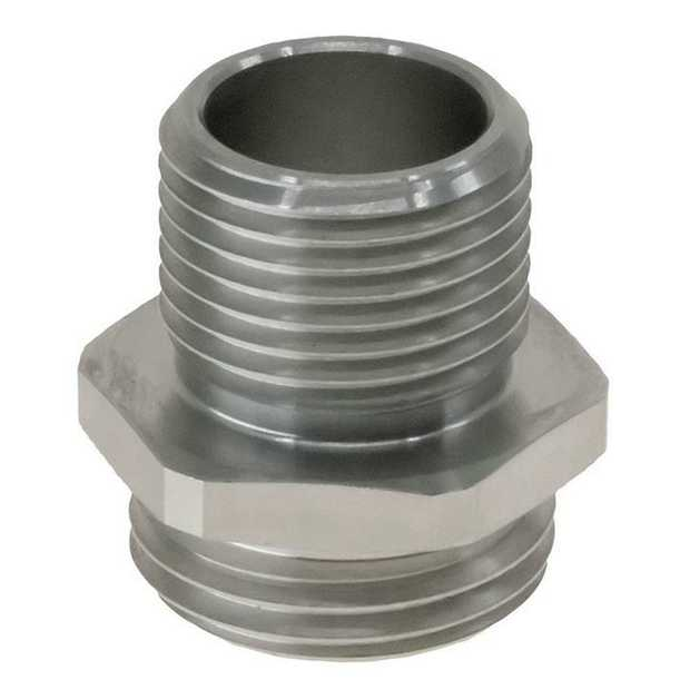 Specifications6061-T6 Billet Aluminium Spin On Adapter, Hard Anodised in Black AN-10 ORB, with minimal...