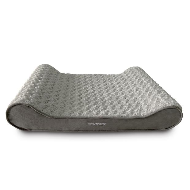 Freezack Bed Soft Air Ortho Mattress Curly Grey Large Pet: Dog Category: Dog Supplies  Size: 1.1kg...