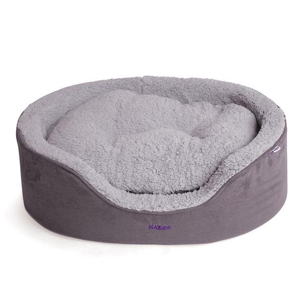 Kazoo Manhattan Bed Grey White Large Pet: Dog Category: Dog Supplies  Size: 1.9kg Colour: Black  Rich...