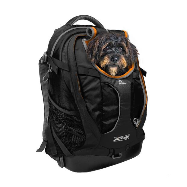 Kurgo G Train K9 Carrier Backpack Black Each Pet: Dog Category: Dog Supplies  Size: 1.4kg  Rich...