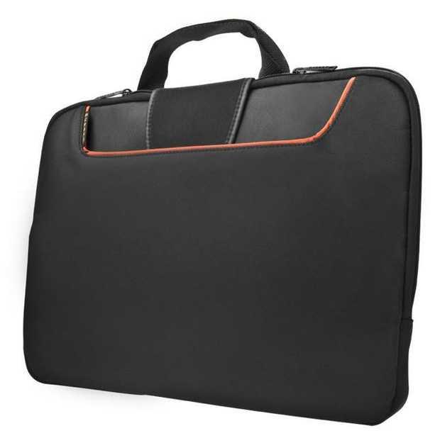 "Accommodates up to 13.3"" laptops Advanced memory foam padding to guard against bumps Soft fine-felt..."