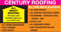 ALL ABOUT ROOFINGPrompt and Reliable ServiceLic #107712c• ALL YOUR NEEDS IN ROOFING• ALL ROOF REPAIRS•...