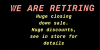 ITS TIME TO RETIRE  EVERYTHING MUST GO HUGE DISCOUNTS APPLYSEE IN STORE FOR DETAILS AND PRICINGUNIT 8 /...