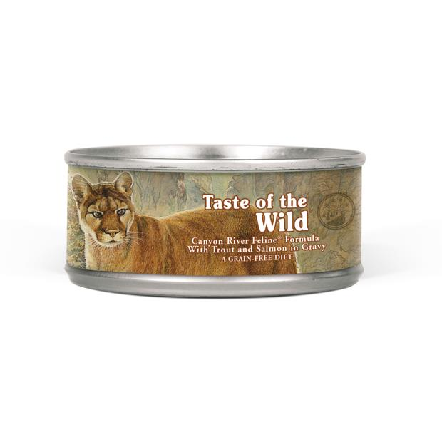 Taste Of The Wild Canyon River Wet Cat Food 24 X 156g Pet: Cat Category: Cat Supplies  Size: 3.7kg...