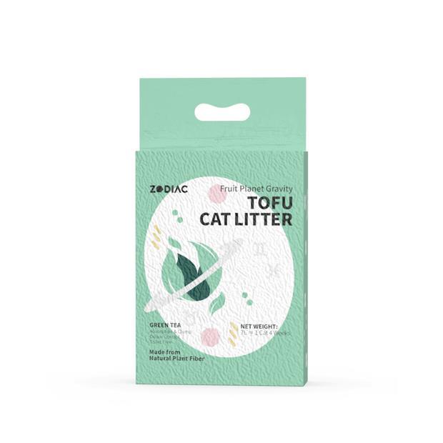 Zodiac Fruity Tofu Cat Litter Green Tea 2.5 Kg Pet: Cat Category: Cat Supplies  Size: 2.5kg Material:...