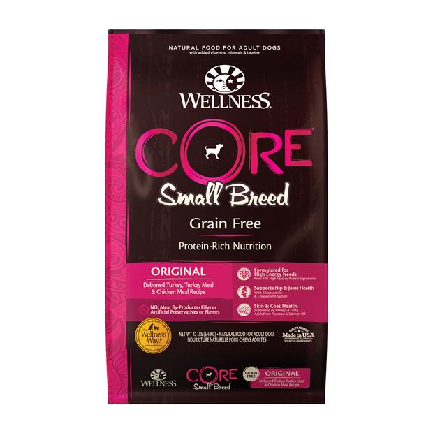 Wellness Core Grain Free Small Breed Original Dry Dog Food 5.4kg Pet: Dog Category: Dog Supplies  Size:...