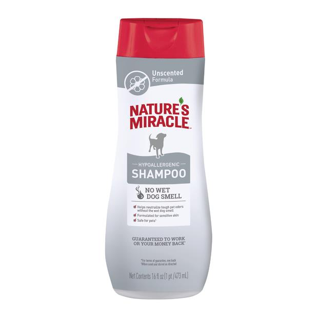 Natures Miracle Dog Hypoallergenic Odor Control Shampoo 473ml Pet: Dog Category: Dog Supplies  Size:...