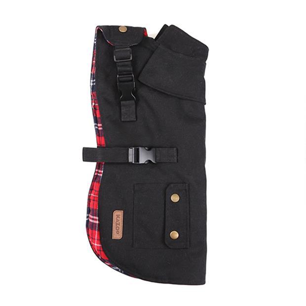 Kazoo Coat Aussie Oilskin Black X Large Pet: Dog Category: Dog Supplies  Size: 1kg Colour: Black  Rich...