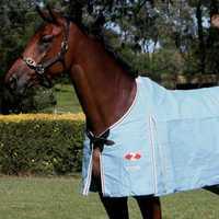 Zilco Hamilton Rug 206cm Pet: Horse Size: 2.4kg Colour: Blue  Rich Description: Originating in...
