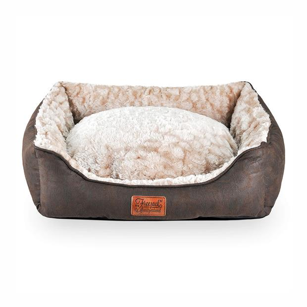 Freezack Bed Volant Sherpa Brown Small Pet: Dog Category: Dog Supplies  Size: 0.9kg Colour: Brown  Rich...
