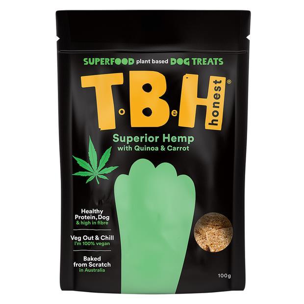 Tbh Pets Carrot Quinoa Hemp Twin Pack Pet: Dog Category: Dog Supplies  Size: 0kg  Rich Description: TBH...