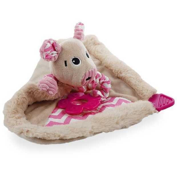 Afp Little Buddy Blanky Piggy Each Pet: Dog Category: Dog Supplies  Size: 0.3kg Colour: Pink  Rich...