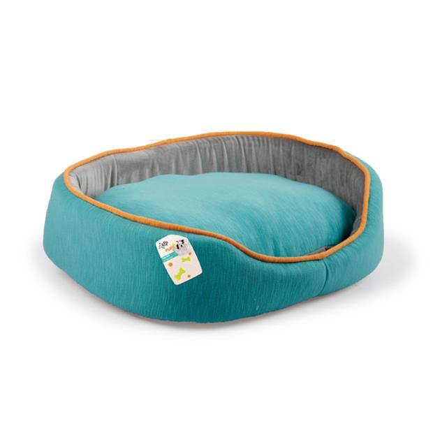 Afp Pups Bed Turquoise Each Pet: Dog Category: Dog Supplies  Size: 0.3kg Colour: Blue  Rich...