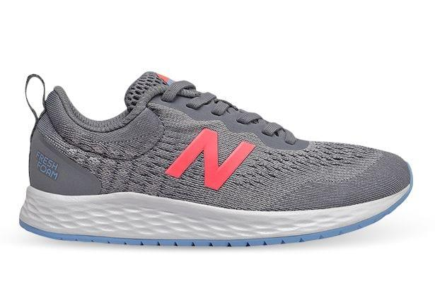 The New Balance Fresh Foam Arishi V3 Grade School has arrived - Engineered with comfy textile upper and...