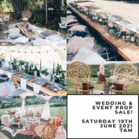 MANSFIELD3 Curringa StreetPast wedding and event props and furniture* Rattan Cane Furniture * Acapulco...