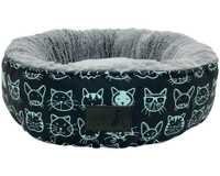 LA DOGGIE VITA KITTY CLUB ROUND BED*Upbeat jazz music** 'Every-body wants to be a cat. Because a cat's...