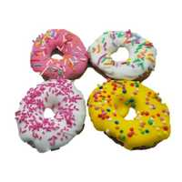 Huds And Toke Mini Pretty Pony Donuts Gourmet Horse Treats 4 Pack Pet: Horse Size: 0.1kg  Rich...