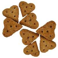 Huds And Toke Little Love Heart Cookies Horse Treats No Icing 1kg Pet: Horse Size: 1kg  Rich...