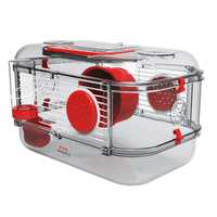 Zolux Rody 3 Mini Cage Red Each Pet: Small Pet Category: Small Animal Supplies  Size: 1kg  Rich...