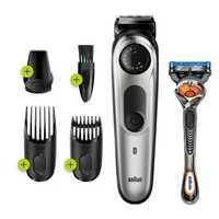 AutoSensing Technology Trimmer and Hair Clipper Lifetime Sharp Blades 39 Length Settings Contour Edging...