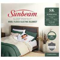 6 Heat Settings 5min Fast Heat Up Auto Off Digital Controller 100% Australian Wool Fleece Safety...