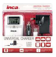 Charges batteries & powers a USB device at the same time Luminous LCD screen display Automatic voltage...