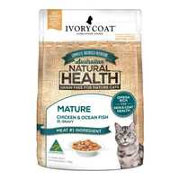 Ivory Coat Grain Free Wet Cat Food Mature Chicken Fish Gravy 12 X 85g Pet: Cat Category: Cat Supplies ...