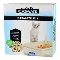 Catmate Cat Litter Kit 5 Piece Set Charcoal Pet: Cat Category: Cat Supplies  Size: 5kg  Rich...