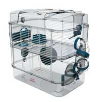 Zolux Rody 3 Duo Cage Blue Each Pet: Small Pet Category: Small Animal Supplies  Size: 2.6kg  Rich...