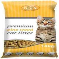 Feline First Pine Litter 14kg Pet: Cat Category: Cat Supplies  Size: 14.1kg  Rich Description: Feline...