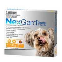 Nexgard Very Small 2 X 6 Pack Pet: Dog Category: Dog Supplies  Size: 0.4kg  Rich Description: Nexgard...