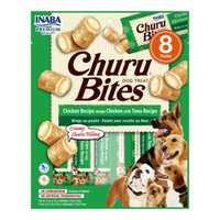 Inaba Churu Bites Chicken Wraps With Tuna Recipe 8 X 12g Pet: Dog Category: Dog Supplies  Size: 0.9kg...