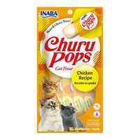 Inaba Churu Pops Chicken 4 X 15g Pet: Cat Category: Cat Supplies  Size: 0.5kg  Rich Description: INABA...