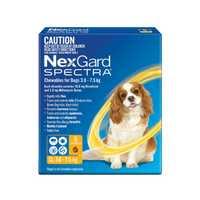 Nexgard Spectra Small Dog 2 X 6 Pack Pet: Dog Category: Dog Supplies  Size: 0.4kg  Rich Description:...