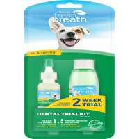 Tropiclean Fresh Breath Dental Trial Kit Pet: Dog Category: Dog Supplies  Size: 0.2kg  Rich...
