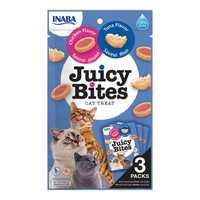 Inaba Juicy Bites Tuna And Chicken 3 X 11.3g Pet: Cat Category: Cat Supplies  Size: 0.4kg  Rich...