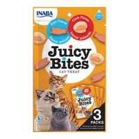 Inaba Juicy Bites Fish And Clam 3 X 11.3g Pet: Cat Category: Cat Supplies  Size: 0.4kg  Rich...
