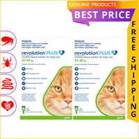 Revolution Plus for Cats is a topical solution manufactured by Zoetis for the treatment of heartworms...