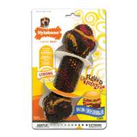 Nylabone Flavour Frenzy Rubber Bacon Cheeseburger Small Pet: Dog Category: Dog Supplies  Size: 0.1kg...