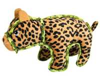OUTWARD HOUND XTREME SEAMZ LEOPARDIt's not hard to spot the toughest toy in town with the Xtreme Seamz...