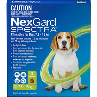 Nexgard Spectra is a monthly treatment that provides broad-spectrum control of the most common external...
