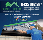 PURE GUTTERS