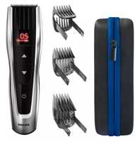 Self-sharpening metal blades 60 length settings 120mins cordless use/1h charge Control buttons...