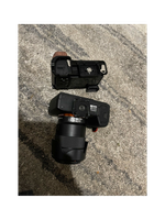 Sony A7Rii and Sony A6400 with lenses and accessories, sony camera bundle. Shutter counter is super low...
