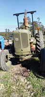 Nuffield Tractor 342 and Slasher
